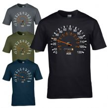 Speedometer 1990 30th Birthday T-Shirt - Funny Feels Age Year Present Mens Gift